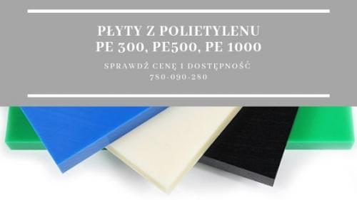 Płyty z polietylenu PE cena