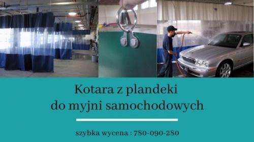 Kotara z plandeki do myjni samochodowej