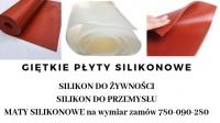 Giętkie płyty silikonowe na wymiar
